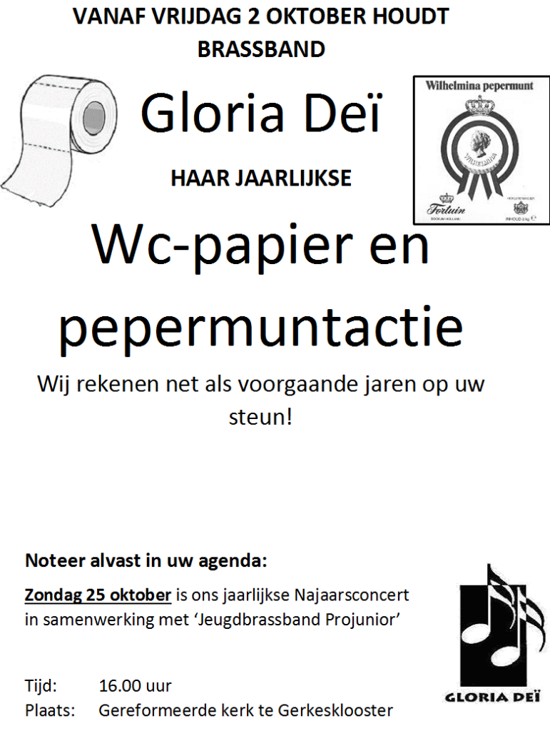 flyer wc papier-pepermuntjes